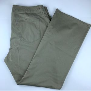 Chico's Platinum khaki green pants/jeans, 3 (16)